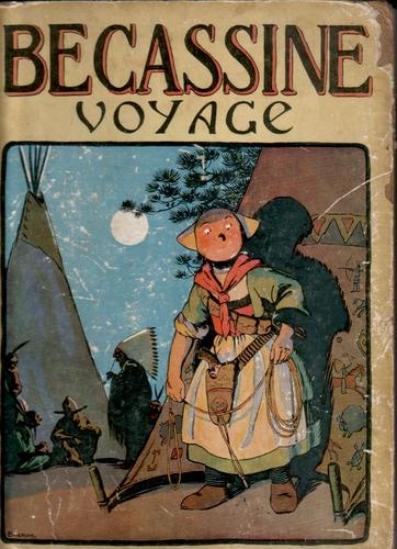 """Becassine Voyage"", by M. L. Caumery, with illustrations by J. P. Pinchon    Published by Gautier at Languereau in 1926."