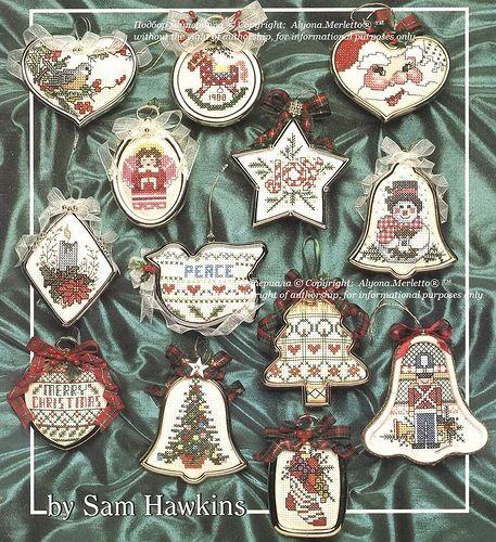 Готовимся к Новому году.... вышивка крестом. Обсуждение на LiveInternet - Российский Сервис Онлайн-Дневников