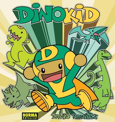 Dinokid, de David Ramírez. -Cómic-. (ROJO)