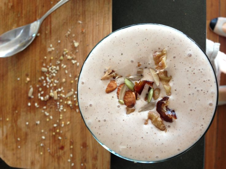 Cinnamon, Banana & Walnut Smoothie