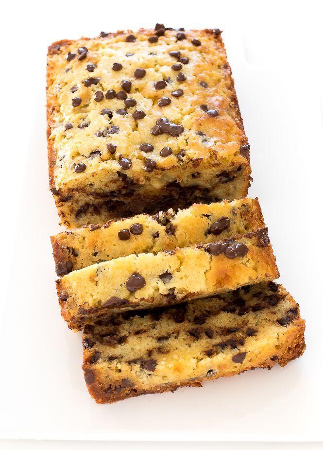 Sour Cream Chocolate Chip Pound Cake Recipe With Images Chocolate Chip Pound Cake Sour Cream Pound Cake Sour Cream Cake