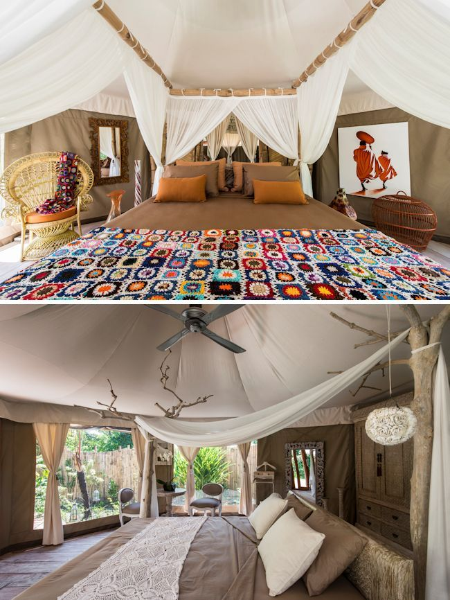 Camping Honeymoon Ideas; Sandat Glamping, Bali