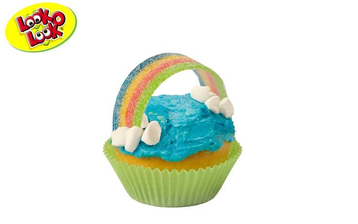 Delicious cupcake! Great treat for festive occasions like birthday parties. #Candy #Treat #Birthday