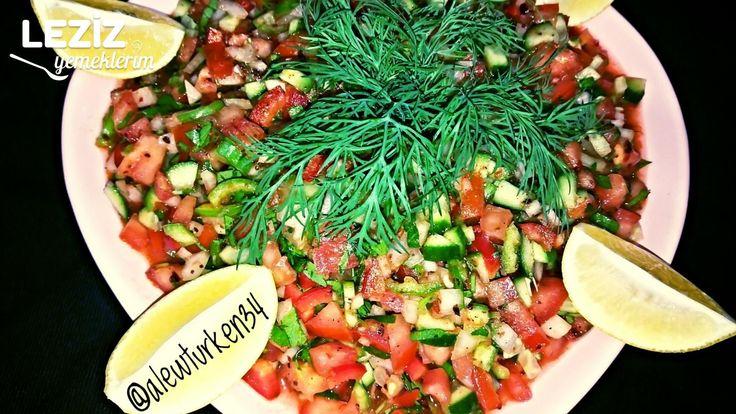 Turşu Tadında Soslu Baharatlı Salata