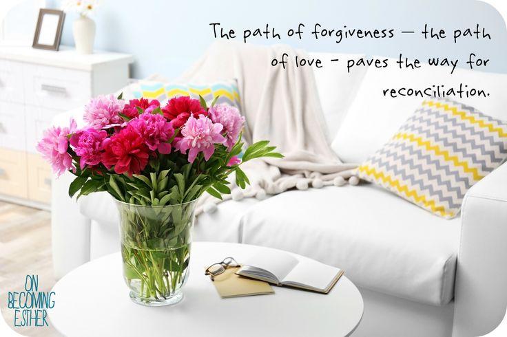 forgiveness, relationships