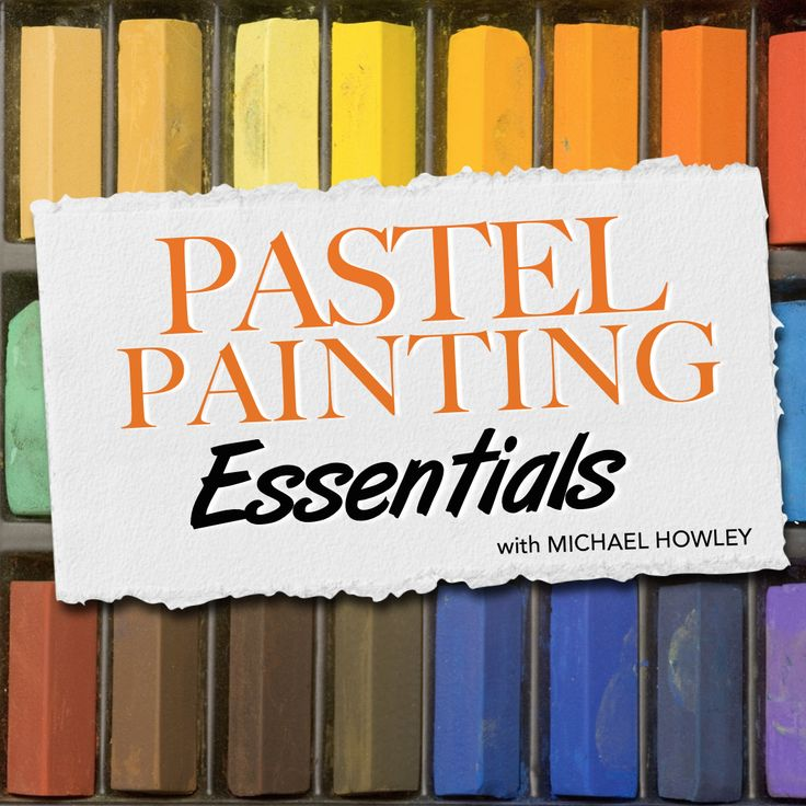 The Pastel Painting Essentials course will teach you fundamental pastel painting techniques that you can then apply to any subject matter you choose to paint. It covers things like materials, blending, colour choice and tonal value. Many of the lessons in our other pastels courses will assume you know the basics taught in this course, so this a great place to start if you're a newcomer to the medium.