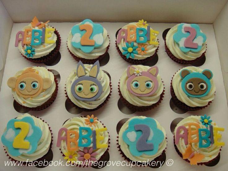Cupcakes: Waybuloo children's birthday cupcakes. www.facebook.com/thegrovecupcakery