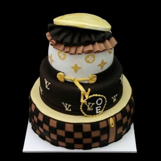 Торт луи виттон