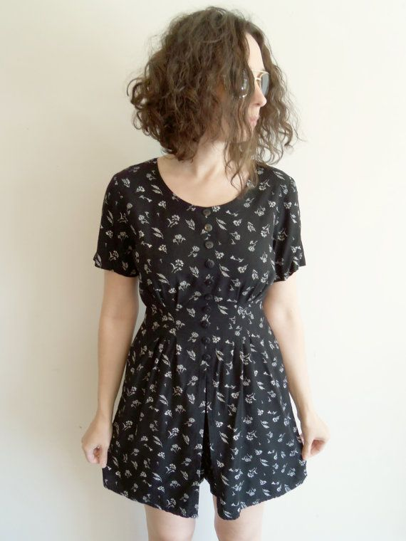 Vintage 90s Black and White Hipster Grunge by FunkyOldSoul on Etsy