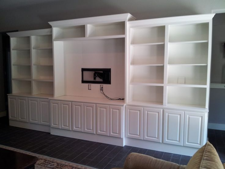 white built in entertainment center - Google Search ...