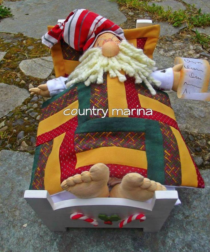 Santa dormilôn