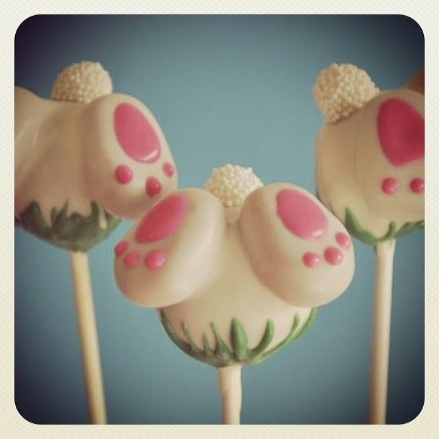 Cute Bunny Cake Pops