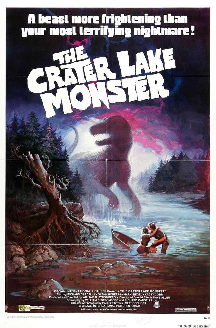 Image detail for -... The Crater Lake Monster