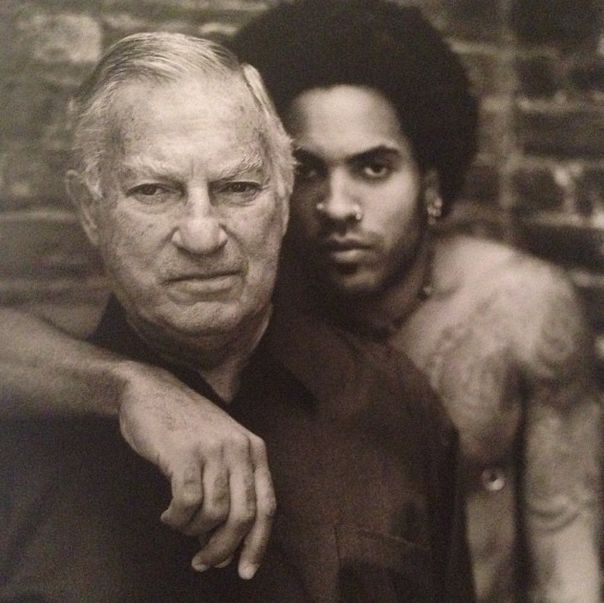Lenny Kravitz and his Dad photo: