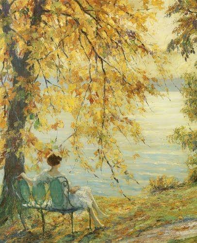 American Impressionist Painter - Edward Cucuel (1875-1954)