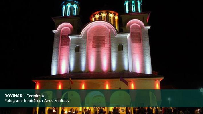 Rovinari. CatedralaFotografie trimisa de Andu Vodislav  28 de poze frumoase cu orase din Romania (partea 2).  Vezi mai multe poze pe www.ghiduri-turistice.info