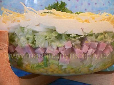 Vrstvený salát