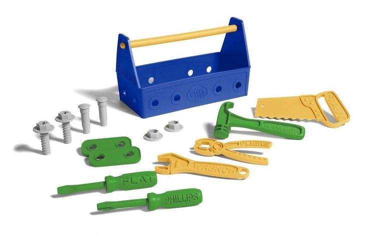 Green Toys - Tool Set - Blue - Bubbalove Australia