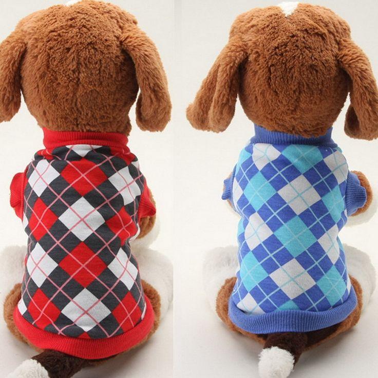 Малый Собак Pet Puppy Футболки Хлопок Одежда Для Животных Т рубашки Танк Тис Топ для Маленький Средний Собак XS L