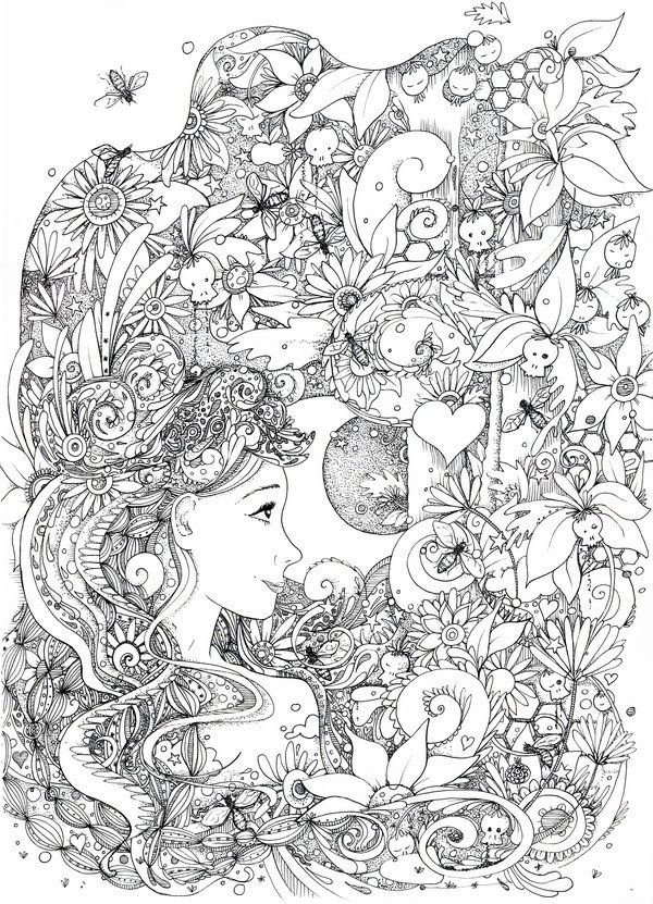 Doodle Coloring pages colouring