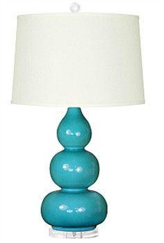Bungalow 5 Hutton Lamp | Dark Turquoise