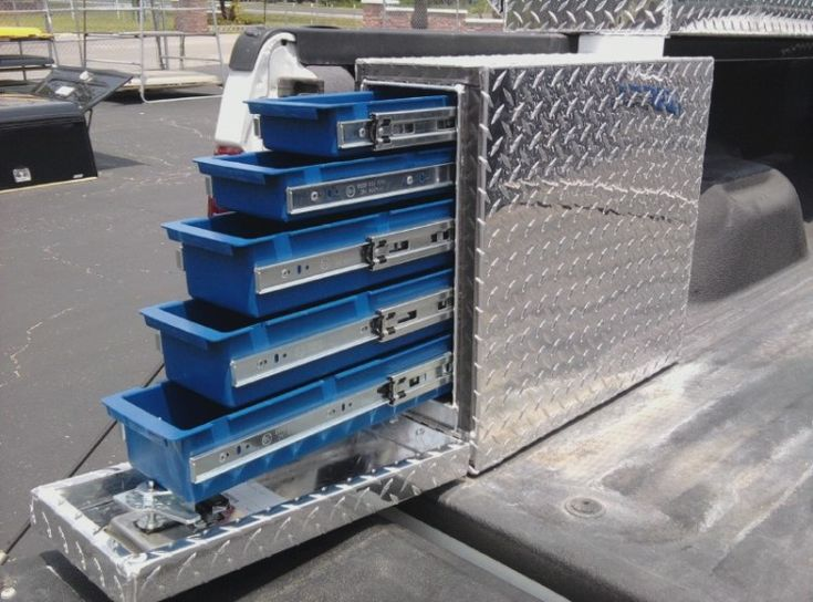 UWS drawer slide soxes : New : Truck Accessories : Emery's Topper Sales Inc.