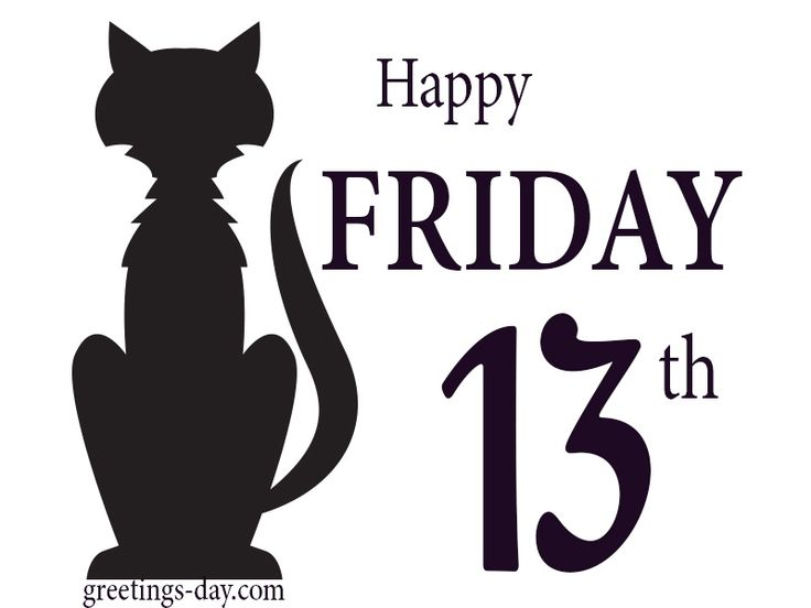 Happy Friday the 13th #EverydayEcards, #Friday http://greetings-day.com/happy-friday-the-13th.html