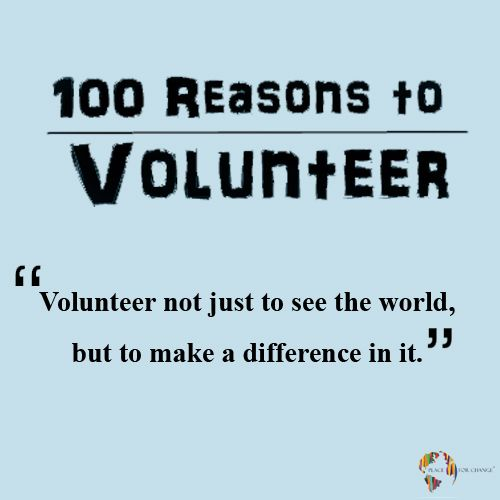 Make a difference!  Visit our site to know how --