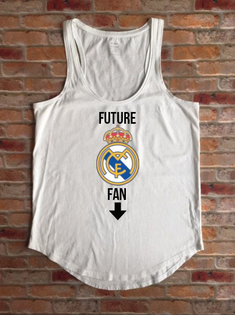 Future Real Madrid Fan, New Real Madrid Fan, Real Madrid Soccer Fan, Pregnant, Maternity, Soccer Baby, Baby Shower Gift, Real Madrid Spain by KyCaliDesign on Etsy