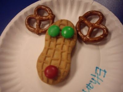 Reindeer cookie craft for toddler  would love to do this w/ grandkids