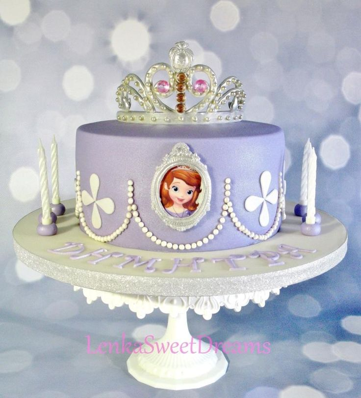 Princess Sofia cake. - Cake by LenkaSweetDreams                                                                                                                                                      More