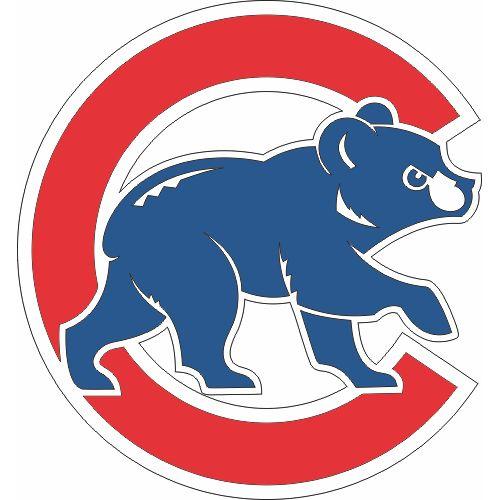 Chicago Cubs Cap Logo  Iron On Sticker (Heat Transfer)