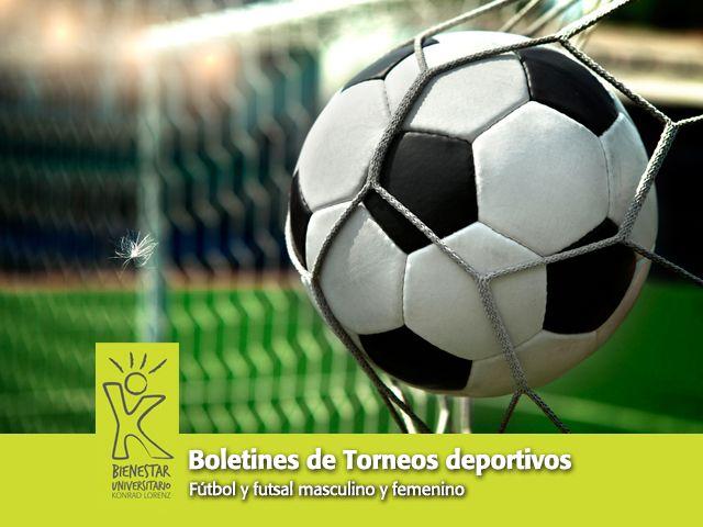 El torneo de fútbol de Bienestar Universitario está llegando a su final, fútbol sala masculino ya tiene un ganador y fútbol tiene una fecha por jugar.  Conozca la programación y ganadores en el boletín 007: http://uklz.info/BUBol07