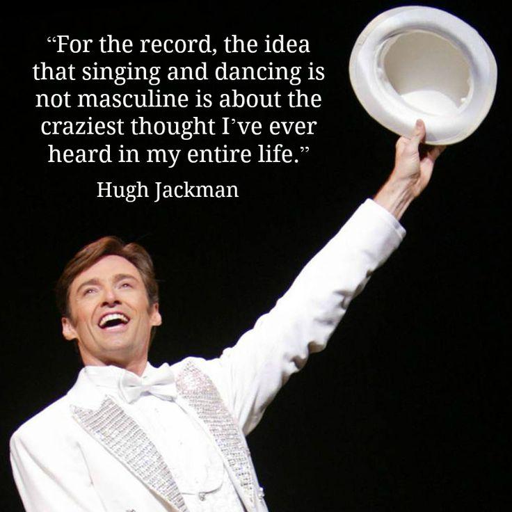 Hugh Jackman - Movie Actor Quote - Film Actor Quote    #hughjackman