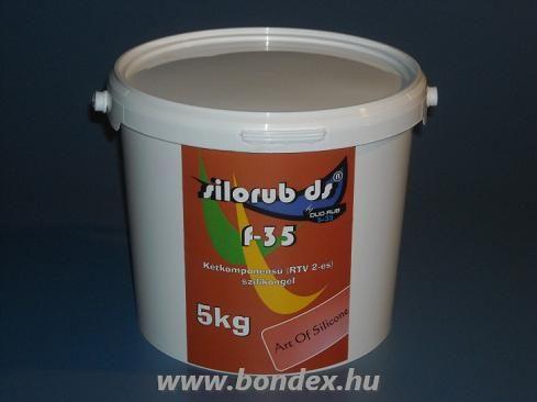Silorub F-35 önthető szilikon RTV 2 formagumi