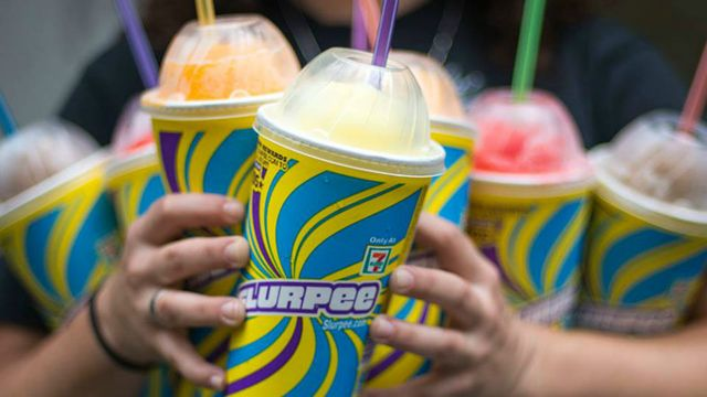 Free slurpee day today 7-11