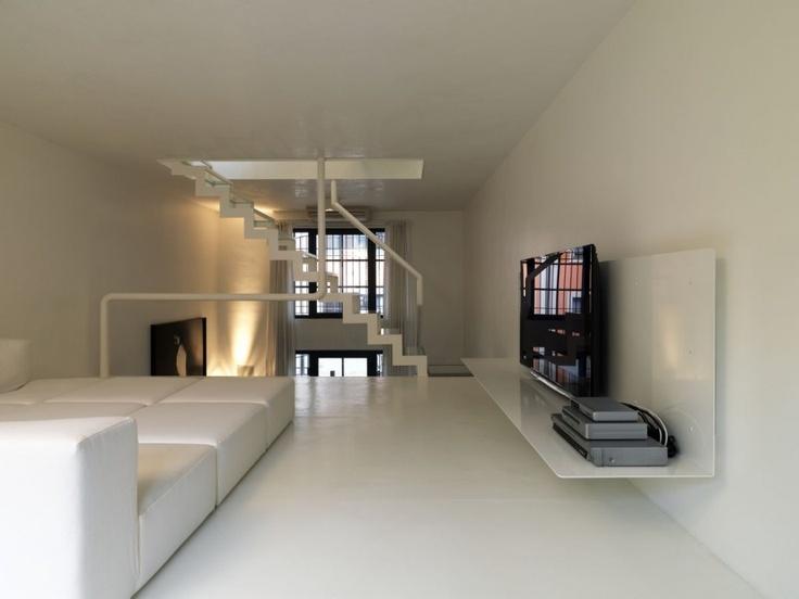 modern minimalist loft livingroom interior design ideas
