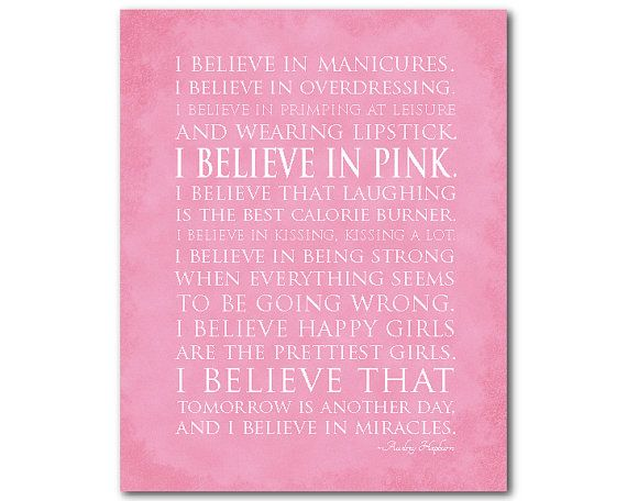 I believe in miracles I believe in pink by SusanNewberryDesigns