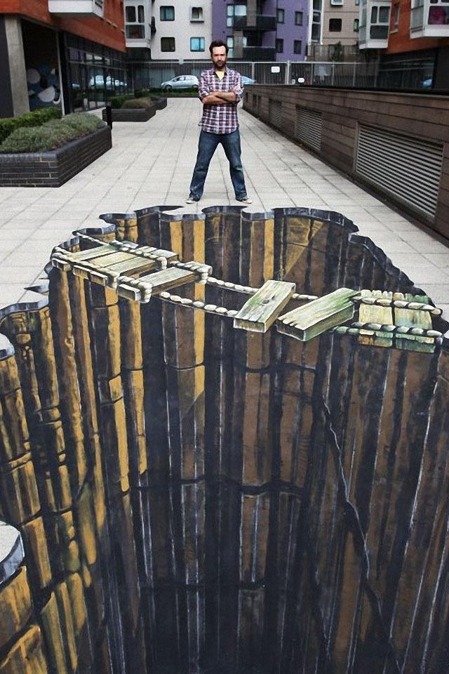 3d Wall Art Illusion Murals