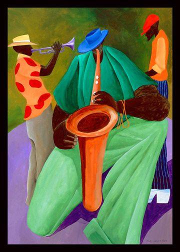 #Francafrique #SOFU #Schroeder #lowegallery #colorful #paint #canvas #bright…