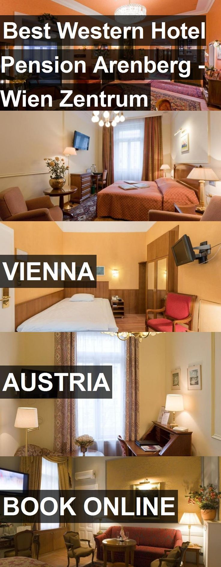 Hotel Best Western Hotel Pension Arenberg - Wien Zentrum in Vienna, Austria. For more information, photos, reviews and best prices please follow the link. #Austria #Vienna #BestWesternHotelPensionArenberg-WienZentrum #hotel #travel #vacation
