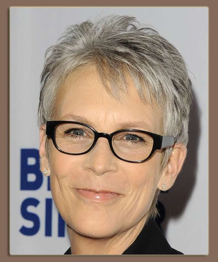 Color Eyeglass Frames Gray Hair : 17 Best images about hair styles on Pinterest Short hair ...