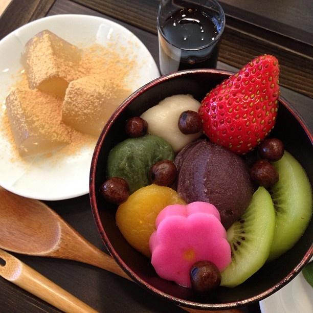 加賀麩の老舗 不室屋のカフェでおやつ〜♡ 麩スイーツうま〜♪ - @mizutamahanco- #webstagram
