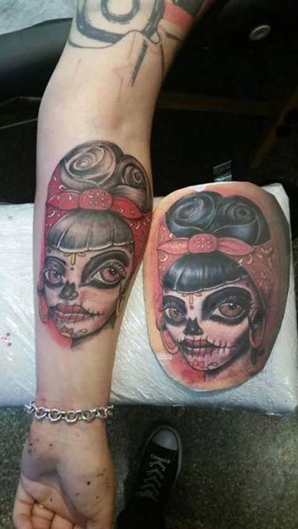 Rockabilly Tattoo Artist: Ray  35 Ranfurly Street, The Old Mill, Kaiapoi Ray: 0277293000 Sarah: 0273591927