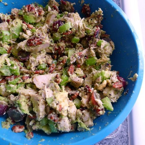 Whole30 Approved: Avocado Sonoma Chicken Salad | Your Healthista