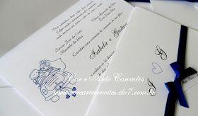 convite azul, convite azul royal, convite de casamento azul, convite de casamento com fita azul, convite branco e azul, convite noivado, convite noivado azul, azul, azul royal, casamento azul, convite de casamento