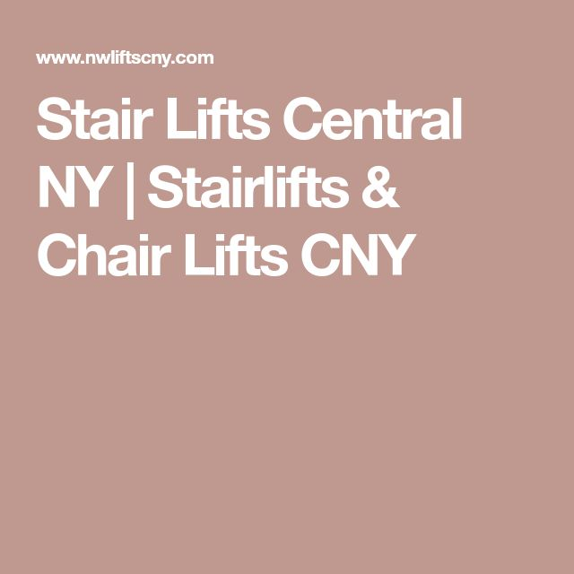 Stair Lifts Central NY | Stairlifts & Chair Lifts CNY