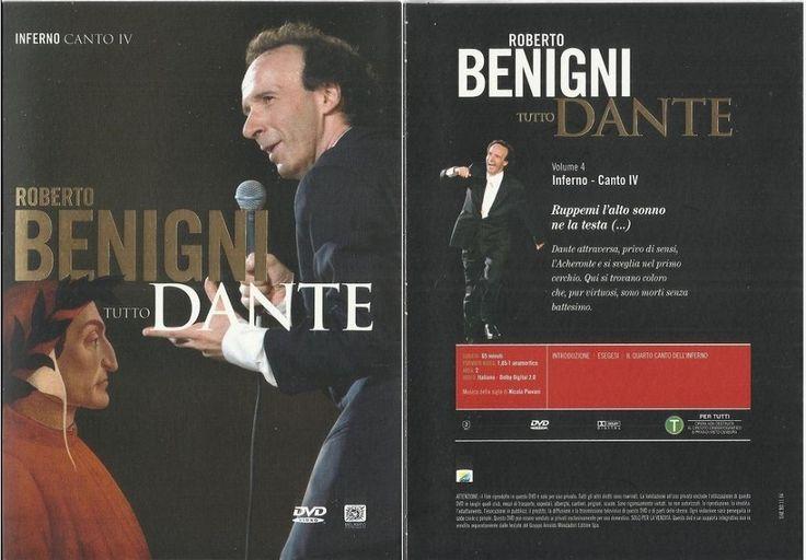 Roberto Benigni - Tutto Dante - Inferno Canto IV - Volume 4° (DVD nuovo)