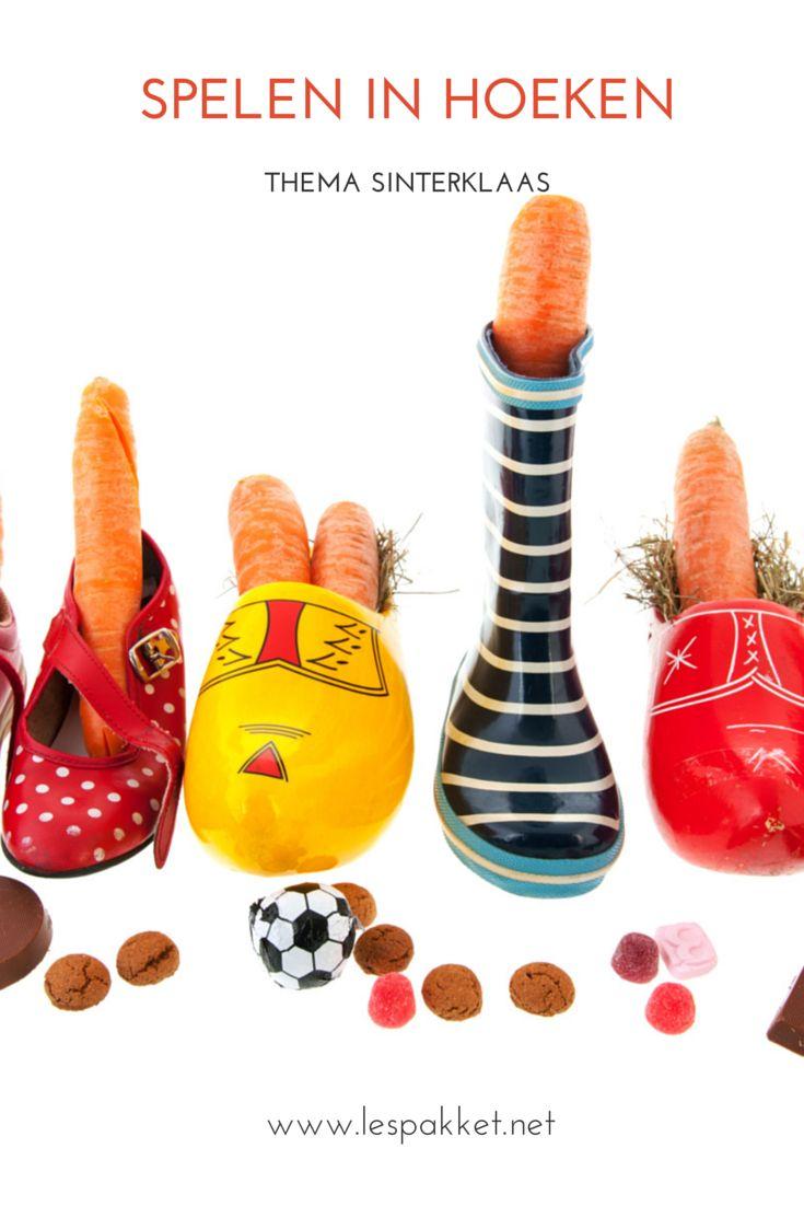 Thema Sinterklaas - spelen in hoeken - Lespakket