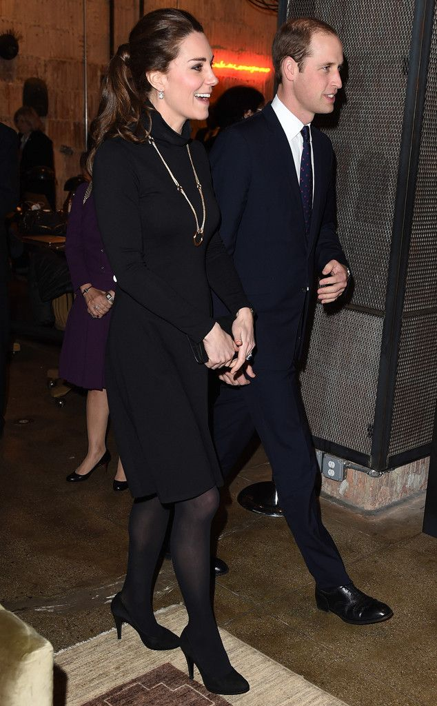 Royal on a Budget! Kate Middleton Wears $99 Little Black Dress and Recycled Jenny Packham Gown?See the Looks!   E! Online Mobile